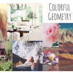 INSPIRATION: Mood-board «Colorful Geometry»