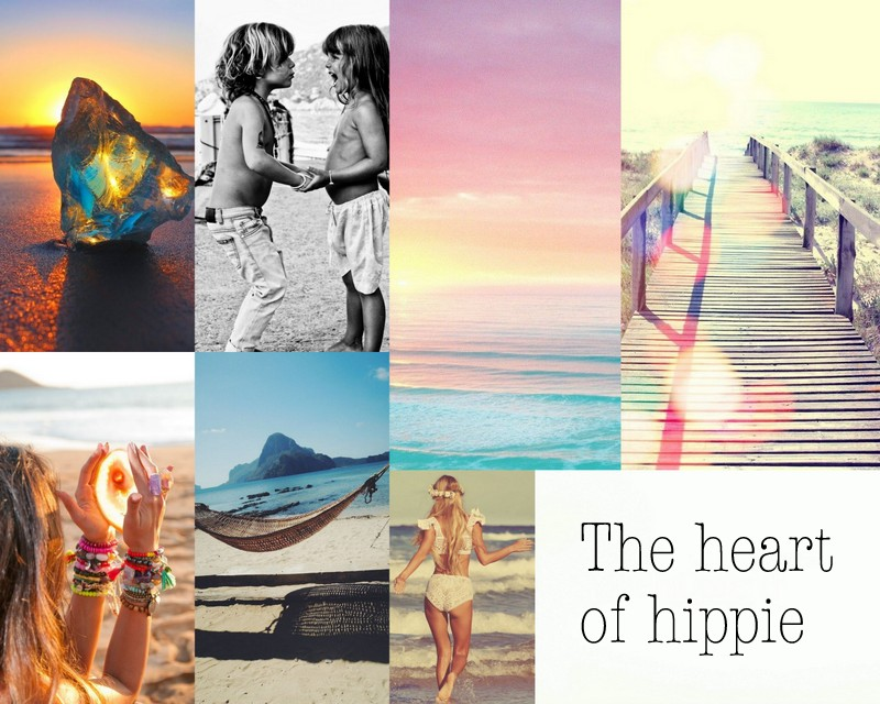 The heart of hippie